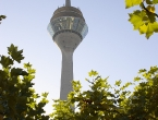 Der Fernsehturm Düsseldorf.