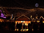 Weihnachtsmarkt in Essen.
