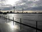 Hochwasser des Rheins im Januar 2011