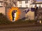 Kunst am S-Bahnhof Düsseldorf-Wehrhahn
