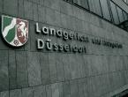 Schriftzug am Land- und Amtsgericht Düsseldorf.